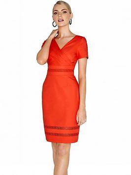 paper-dolls-wrap-pencil-midi-dress-orange