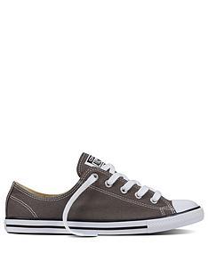 Converse Chuck Taylor Dainty Ox - Dark Grey b8b28b59f