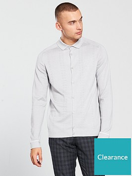 river-island-ls-button-thru-cable-polo