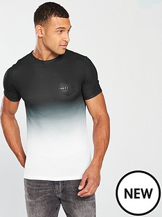 river-island-black-039ninety-eighty039-fade-muscle-fit-t-shirt