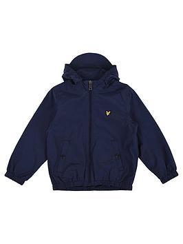 lyle-scott-boys-zip-through-hooded-windcheater-jacket-navy