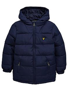 lyle-scott-boys-down-blend-paddednbspcoat-navynbsp