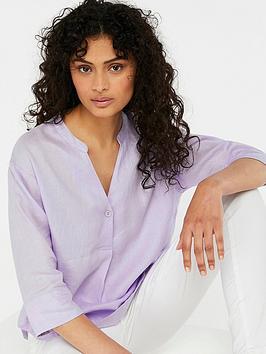 Monsoon Shirt T Linen Grace Lowest Price Cheap Price QePBo