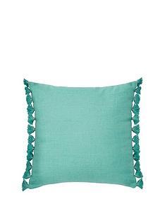 monsoon-linen-tassel-cushion