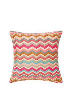 monsoon-bright-zig-zag-cushion