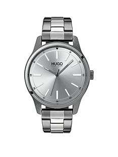 hugo-hugo-dare-silver-3-hand-dial-with-grey-ip-and-stainless-steel-bracelet-mens-watch
