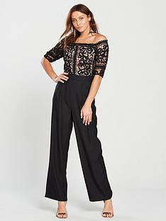 little-mistress-bardot-lace-top-jumpsuit-blacknbsp