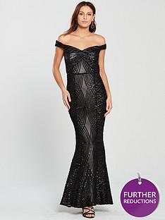 little-mistress-bardot-all-over-sequin-maxi-dress-blacknbsp