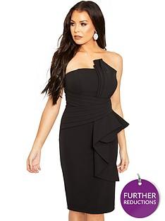 sistaglam-loves-jessica-bardot-knot-front-midi-dress-black