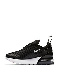 99b9328c7ac5 Nike Air Max 270 Childrens Trainer - Black White