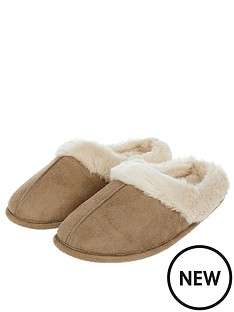 accessorize-suedette-mule-slipper