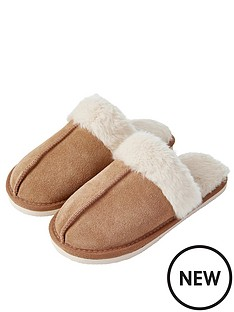 accessorize-real-suede-mule-slipper