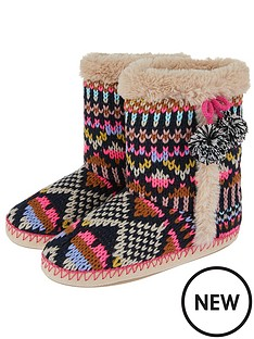 accessorize-frosty-fairisle-slipper-boot