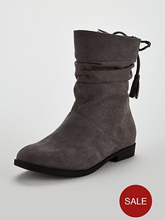 v-by-very-brooke-slouch-tassel-boots-grey