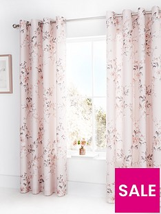 catherine-lansfield-canterbury-glitter-eyelet-curtains