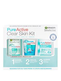 garnier-garnier-pure-active-anti-blemish-skin-care-regime-kit