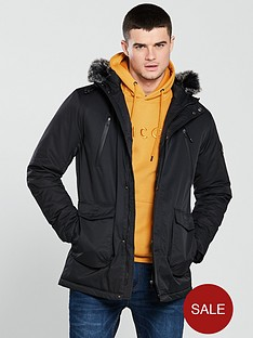 v-by-very-fauxnbspfur-hooded-parka-black