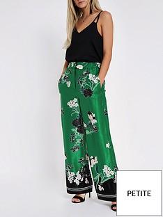 ri-petite-ri-petite-floral-print-wide-leg-trouser-green