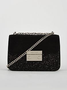 23feef962f KAREN MILLEN Karen Millen Glitter Evening Bag With Chain