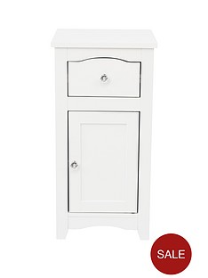 lloyd-pascal-bude-cabinet-with-drawer-white-with-crystal-handles