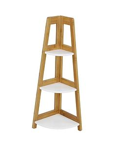 lloyd-pascal-denver-bamboo-3-tier-corner-shelf-unitnbsp--natural-amp-white