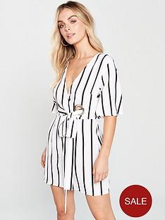 ax-paris-petite-ax-paris-petite-tie-waist-pin-stripe-dress
