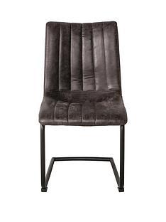 hudson-living-pair-of-edingtonnbspfaux-leather-dining-chairs-grey