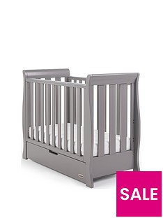 obaby-stamford-space-saver-sleigh-cot