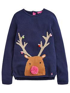 joules-girls-festive-merl-jumper