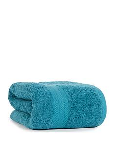 essentials-collection-100-cotton-450-gsm-quick-dry-jumbo-bath-sheet-ndash-teal