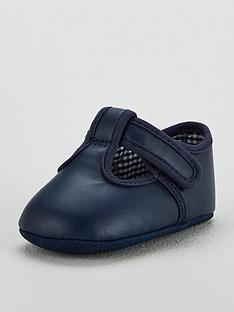 mini-v-by-very-baby-booties-navy