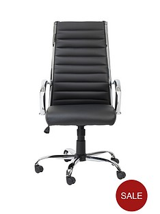 alphason-hartford-faux-leather-office-chair