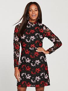v-by-very-petite-lace-shift-dress-multi