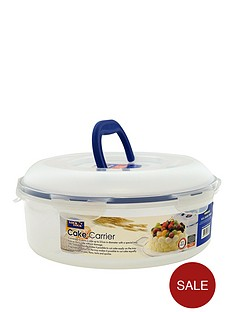 lock-and-lock-55-litre-round-cake-box-with-tray-and-carry-handle