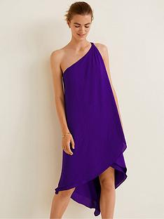 mango-amilia-asymmetric-one-shoulder-dress-purple