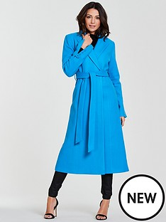 michelle-keegan-longline-wrap-formal-coat-blue