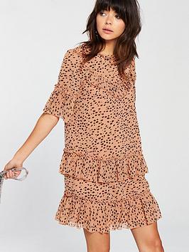 River Swing  Island Leopard Dress Outlet Wholesale Price Lowest Price Sale Online Sale Footlocker lhx5AX