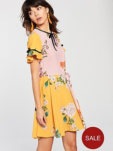 river-island-printed-tea-dress-multi