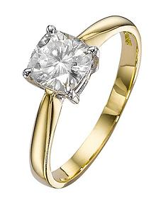 moissanite-18-carat-white-gold-100pt-equivalent-moissanite-cushion-cut-ring