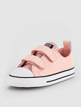0396daed230431 Converse Converse Chuck Taylor All Star 2v Glitter Infant - Ox ...