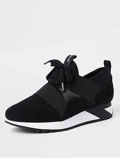 river-island-lace-up-runners-black
