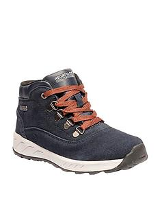regatta-grimshaw-mid-suede-junior-walking-boot-navy