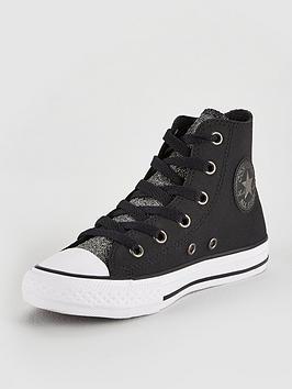 Converse Converse Chuck Taylor All Star Glitter Junior - Hi ... 4c72f5b530ea