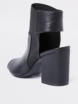 Black Island Boots Heel Shoe River Block  Wholesale Price Sale Online Discount Factory Outlet OQeRd51aDw