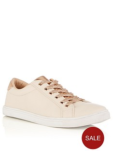 oasis-nude-and-metallic-trainer