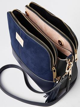Island Bag Compartment River Triple Crossbody Navy Cheap Authentic Sale Explore Best Store To Get Cheap Price Pre Order Countdown Package Online GQHvC