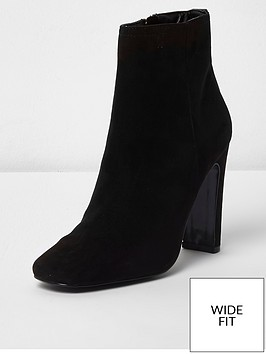 river-island-river-island-wide-fit-slim-heel-boots-black
