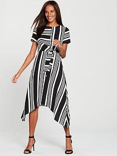 oasis-stripe-hanky-hem-dress