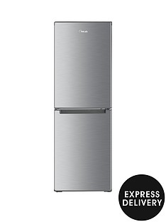 swan-sr8180s-48cm-fridge-freezer-stainless-steel-effect-with-express-delivery