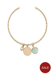 v-by-very-arco-semi-precious-charm-bangle-gold